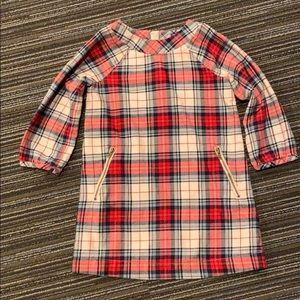 Baby Gap plaid tunic dress